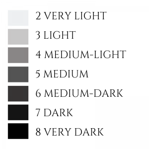 Colour Tone Scale